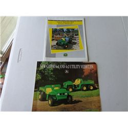 JD Gator Utility Vehicles Product Info