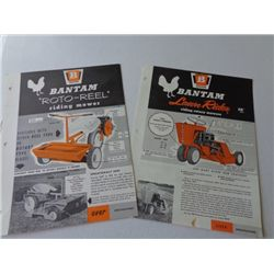 Bantam - Roto-Reel and Lawn Rider Flyers
