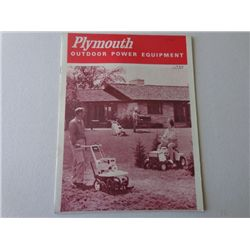 Plymouth Outdoor Power Equip. Booklet
