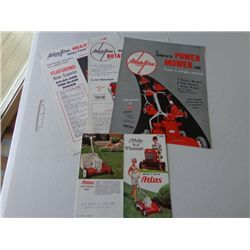 Lot of Atlas Aire Product Info Sheets