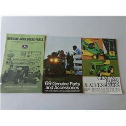 Lot of JD Genuine Parts & Accessories '66 '69 '70