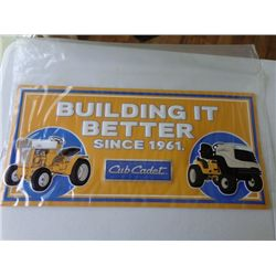 Metal Cub Cadet Sign