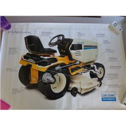 Cub Cadet Poster  - Innovations