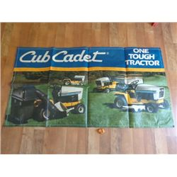 Cub Cadet Yard Sign - Tough One