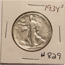1934 Walking Liberty