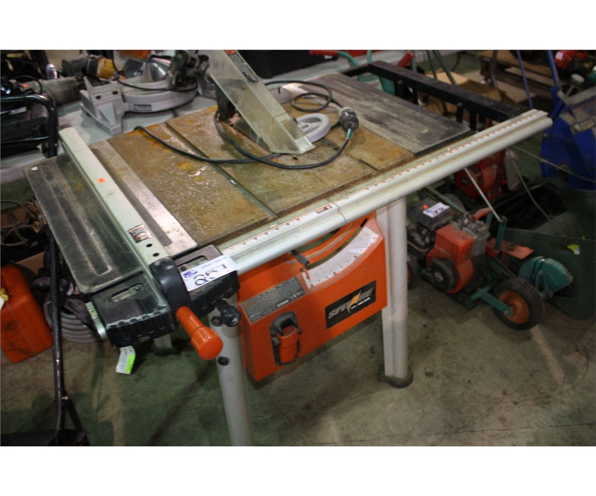 Spitfire 10 Inch Electric Table Saw