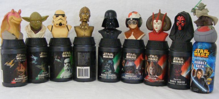 ... Image 5 : COLLECTION OF STAR WARS BATHROOM ACCESSORIES ...