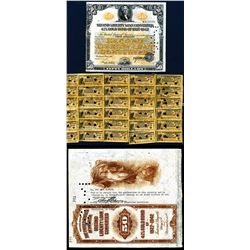 Second Liberty Loan Converted 4 1/4% Gold Bond of 1927-1942, $50 Issued, Cancelled and Reissued Bond