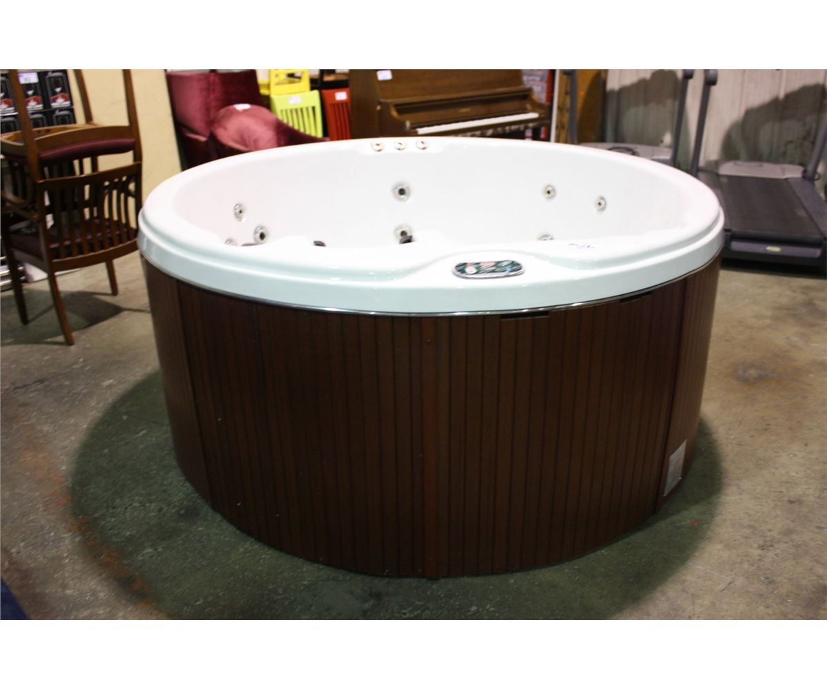 lifesmart backyard tubs tub nordic to designs parts bathroom with your hot heater spa package rapids covers and grand round pump