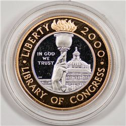 2000-W $10 Library of Congress, Uncertified Gem Proof (64827)