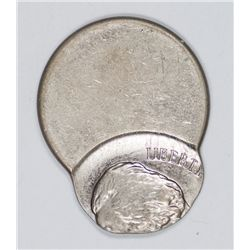 Jefferson Nickel Error, Struck 75% Off Center (27898)