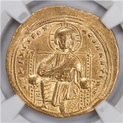 Byzantine Gold Nomisma, 1028-34 AD, NGC Choice XF (63652)