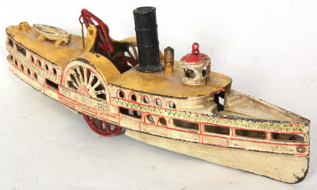 Image 3 Wilkins Cast Iron Passenger Steam Paddle Boat
