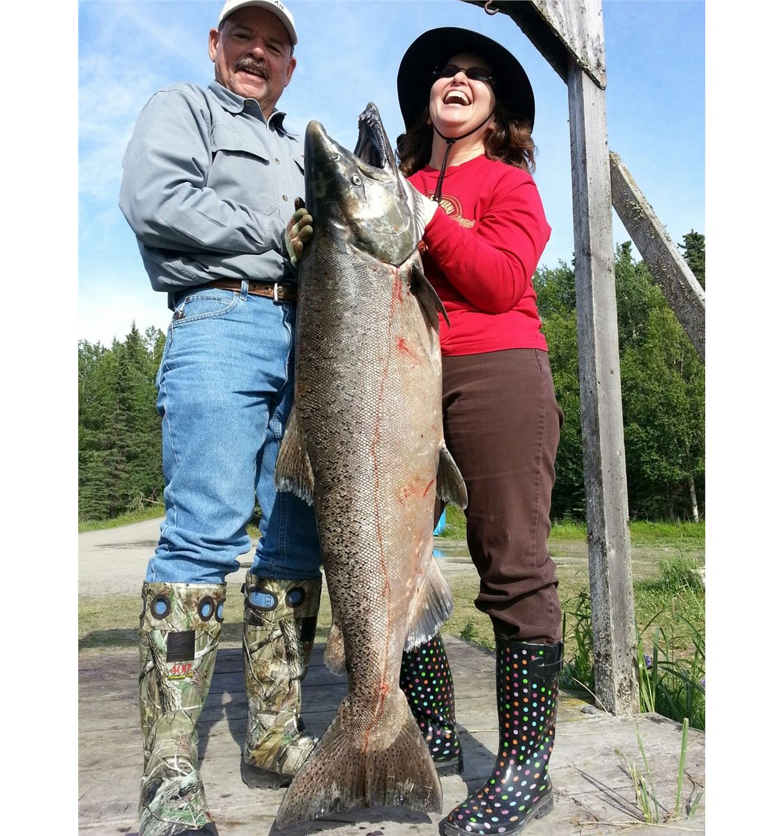 Night Day AllInclusive Lodging Fishing Package For Two - All inclusive alaska