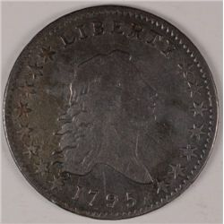 1795 FLOWING HAIR HALF DOLLAR, A NICE VF-20  GREAT ORIGINAL LOOK  RARE!!