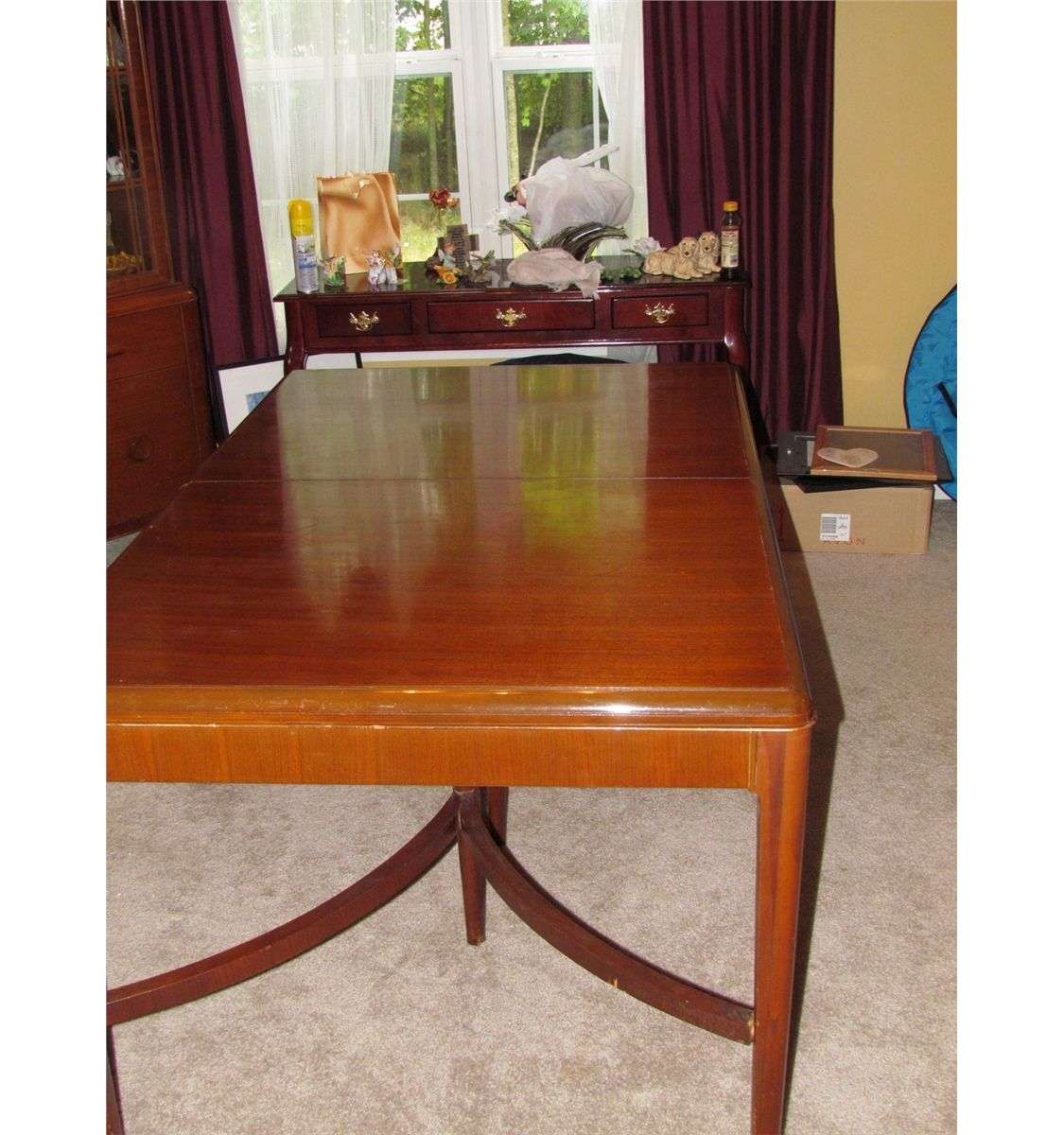 Dining Room Set With China Cabinet: Fine Vintage P.L. Barth Co. Maple Dining Room Set Complete