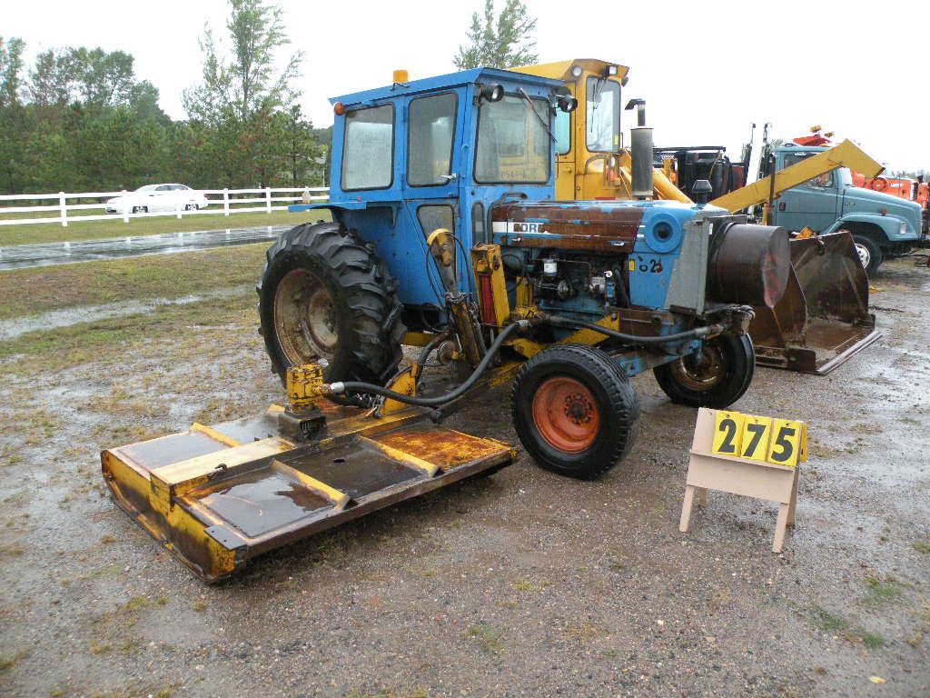 Ford 5600 Tractor : Ford tractor w tiger ditch mower pt