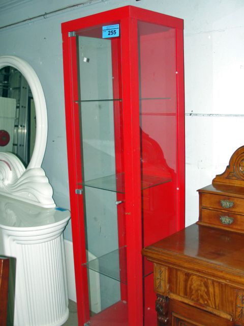Delicieux Image 1 : Red Ikea Curio Cabinet