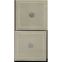 RCM Lot;  1976 Olympic Empty boxes issued for 5 coin sets.