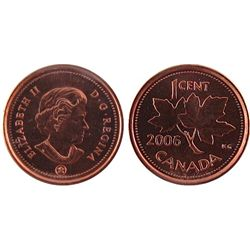 2006P, Cents RCM Logo ICCS MS67; Red.