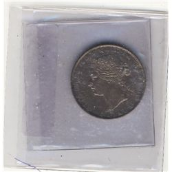 1871 50 Cents Abt EF. .