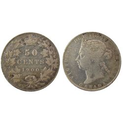 1900 50 Cents, F15.