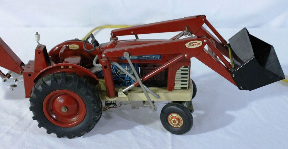 Ford 4000 Tractor Controls : Ford hd industrial remote control tractor