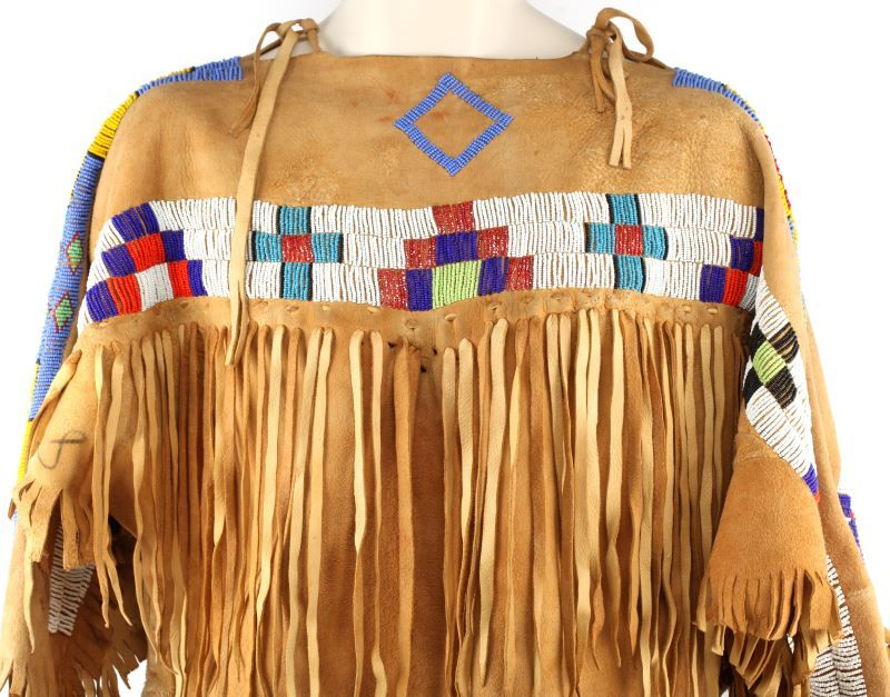 how to make a native american dress