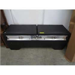 Dual lid packer truck box