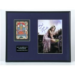 Buffy The Vampire Slayer Sarah Geller Photo-Autograph & Tarot Card Prop
