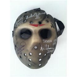 Friday The 13th Autographed Replica Mask