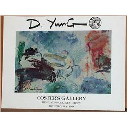 D. Yung, 1988 Art Expo Poster