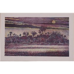 Gregory Johnson, Solitude, Signed Lithograph