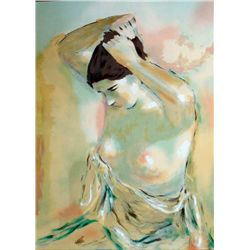Jan De Ruth, Morning, Signed Lithograph