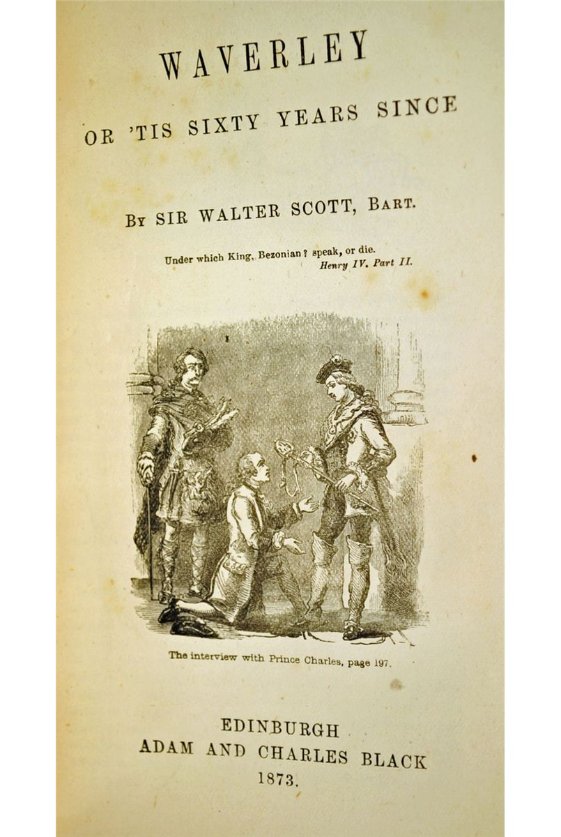 a literary analysis of waverley by walter scott The imagery of the waverley novels by christabel forsyth fiske, walter scott (isbn: ) from amazons book store free uk delivery on€ a literary history of england - google books result abebookscom: epic suggestion in the.