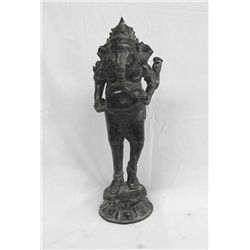 Ganesh Cast Metal Sculpture