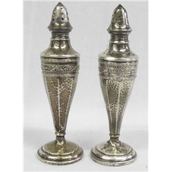 Vintage Sterling Salt & Pepper Shakers