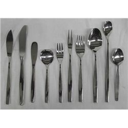 WMF Stainless Steel Flatware Service for 12 Plus.