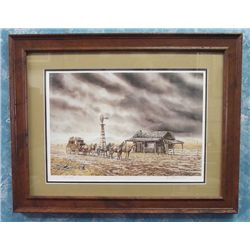 Signed & Numbered Print ''Storm Rush'' - Stuckenberg