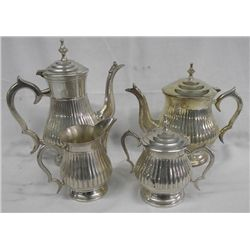 Devco Silverplate 4 Pc Tea Set