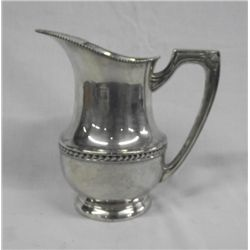 Silverplate Water Pitcher