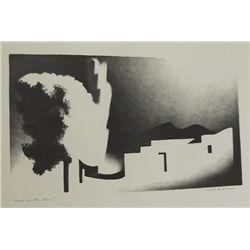 Kenneth M. Adams Portfolio of Lithographs.