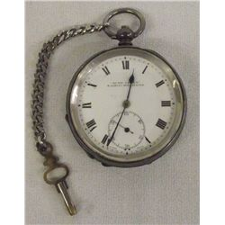 Antique H. Samuels Manchester Pocket Watch