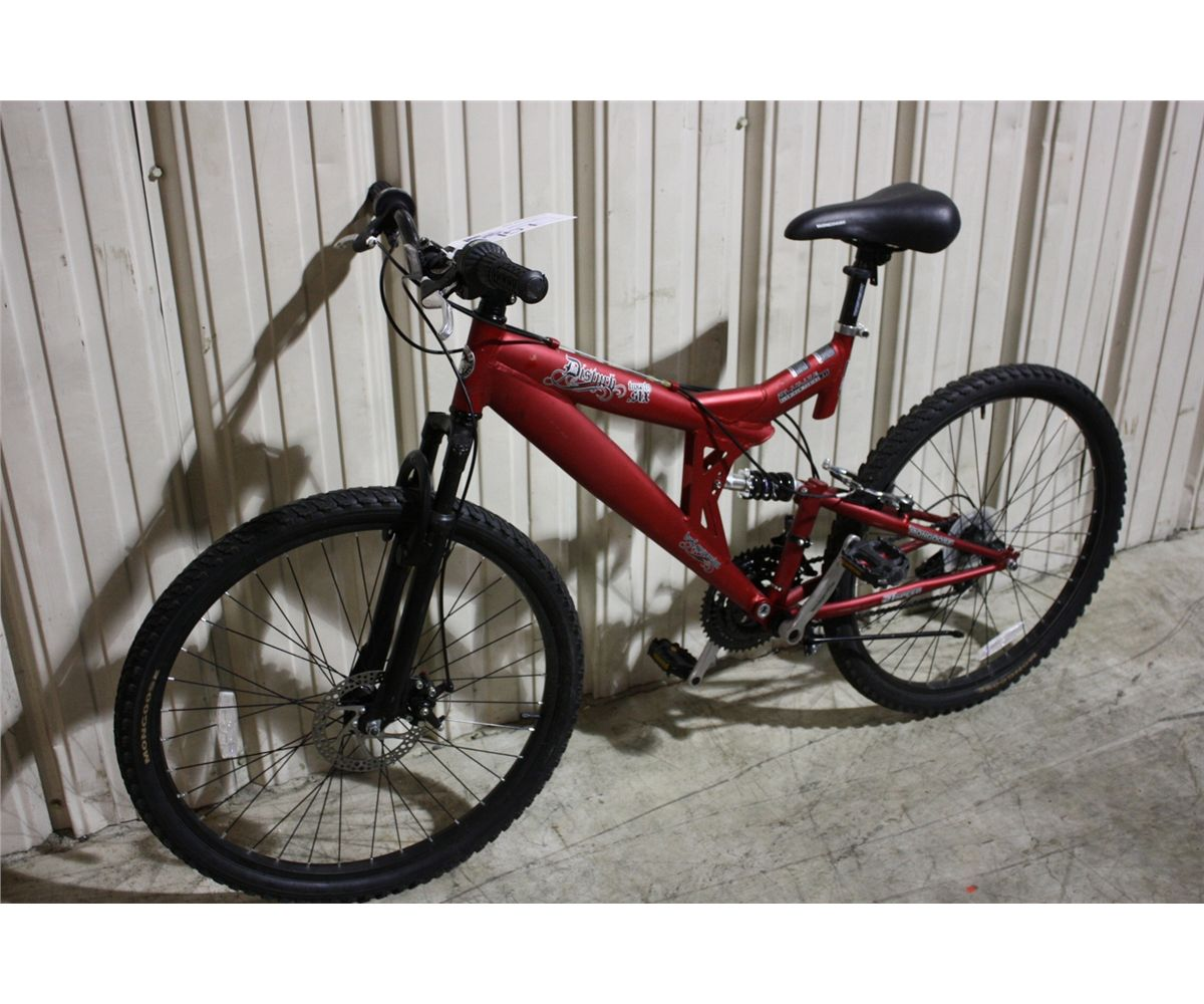 Red Mongoose Bike Red Mongoose Disturb 21 Spd