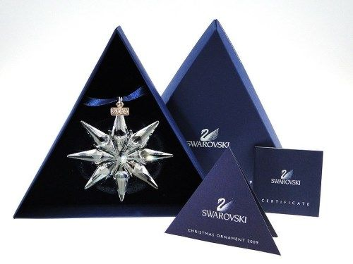 Image 1 : Swarovski 2009 Annual Limited Edition Christmas Ornament MINT IN  BOX! - Swarovski 2009 Annual Limited Edition Christmas Ornament MINT IN BOX!!!