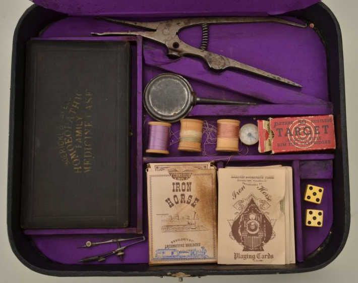 Antique gambling sets casino diego party san