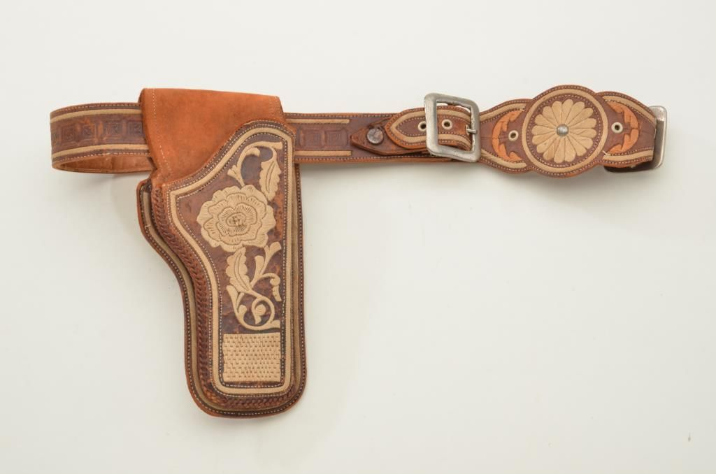 Mariachi Auto Sales: Mexican Piteado Holster And Belt For A Colt 1911 Semi-auto