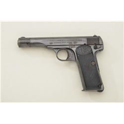 Browning Model 1922, .32 ACP caliber semi-automatic pistol, serial number 34247. The pistol shows 50