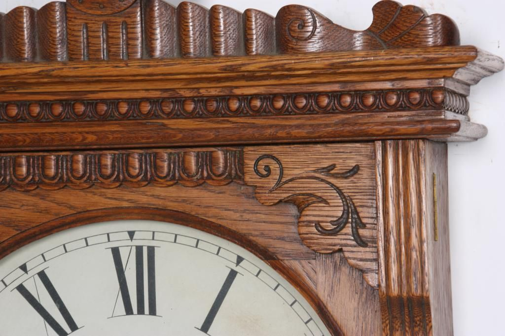 """Large Wall Clock In Foyer : Ansonia """"foyer no hanging wall clock"""