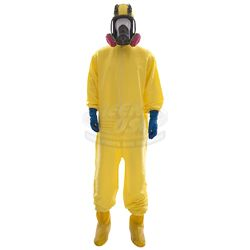 Breaking Bad (TV) - Walter White's Hazmat Suit with Gas Mask (Bryan Cranston)
